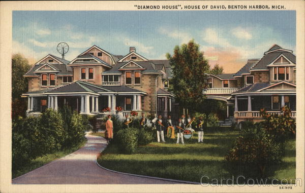 """Diamond House"", House of David, Benton Harbor, Mich."