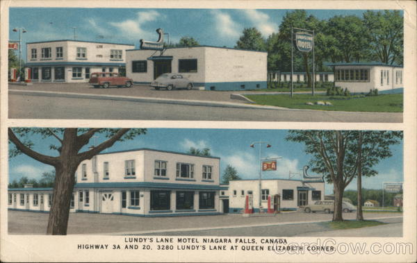 THE LUNDY'S LANE MOTEL AND RESTAURANT Niagara Falls