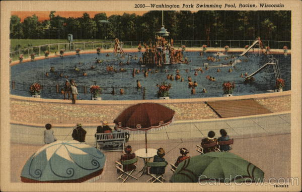 Washington Park Swimming Pool Racine Wisconsin