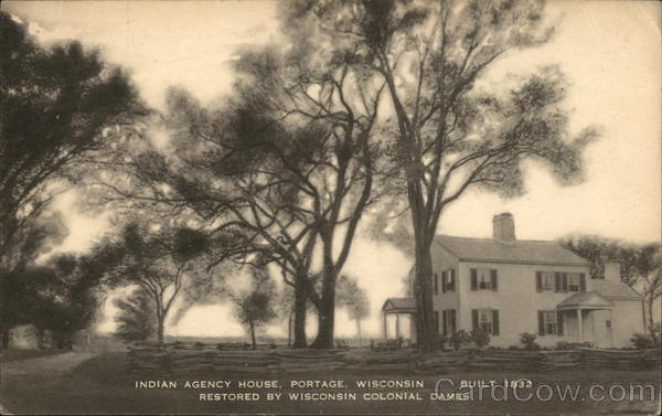 Indian Agency House Portage Wisconsin