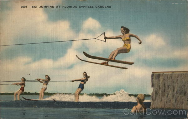 Ski Jumping at Florida Cypress Gardens