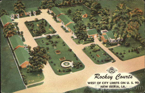 Rocksy Courts New Iberia Louisiana