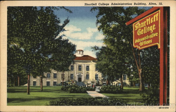 Shurtleff College Administration Building Alton Illinois