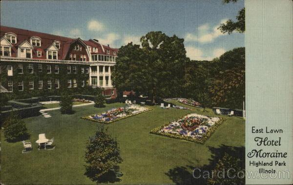 Hotel Moraine On The Lake East Lawn Highland Park Illinois