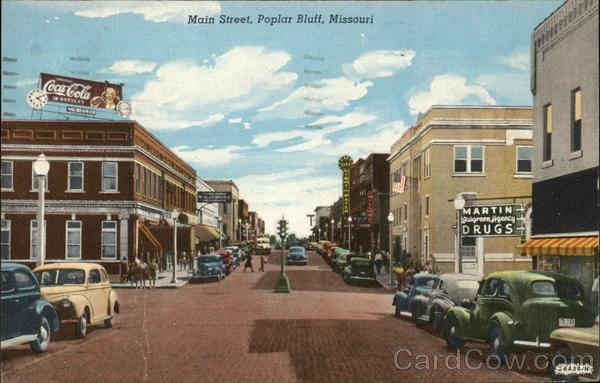 Main Street Poplar Bluff Missouri