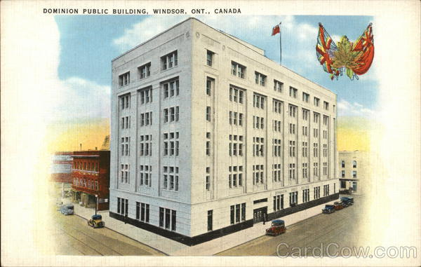 Dominion Public Building Windsor Canada Ontario