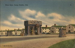 Main Gate, Camp Chaffee, Ark.