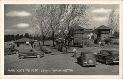Main Gate to Fort Lewis, Washington