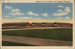 General View of Hospital Postcard