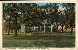Fort Benning - Infantry School, Commander's Quarters