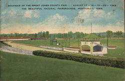 Souvenir of the Great Jones County Fair