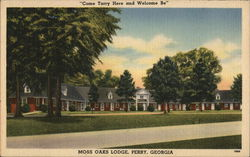 "Moss Oaks Lodge - ""Come Tarry Here and Welcome Be"""