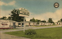 The Lorenda Motel Postcard