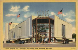 Sears, Roebuck and Company's New Super Store