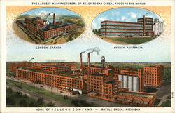 Home of Kellogg Company - Largest Manufacturers of Ready To Eat Cereal