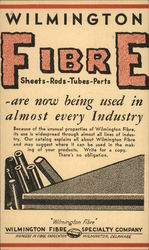 Wilmington Fibre Sheets, Rods, Tubes, Parts