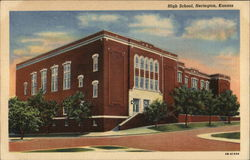 High School, Herington, Kansas