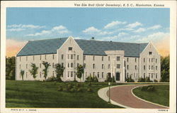 Van Zile Hall (Girls' Dormitory), K.S.C.