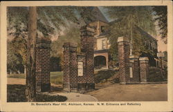 St. Benedict's Maur Hill - N.W. Entrance and Refectory Postcard
