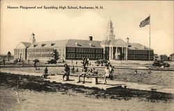 Hanson Playground and Spaulding High School