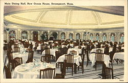 Main Dining Hall at New Ocean House