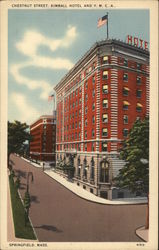 Chestnut Street, Kimball Hotel and Y.M.C.A.