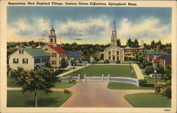Storrowton, New England Village, Eastern States Exposition