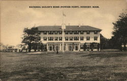 National Sailor's Home (Powder Point) Postcard