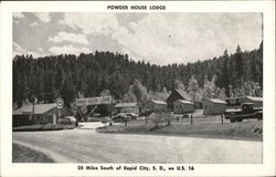 Powder House Lodge Postcard