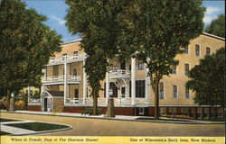 Sherman House Postcard