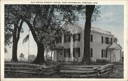 Old Indian Agency House, Fort Winnebago