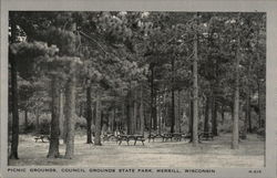 Picnic Grounds, Council Grounds State Park