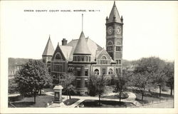 Green County Court House Postcard