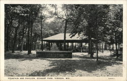 Fountain and Pavilion at Eckhart Park