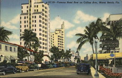 Hotel Row on Collins Avenue
