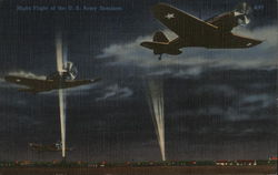 Night Flight of the US Army Bombers
