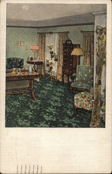 View of Bedroom Postcard