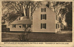 Birthplace of Sophia Smith - Founder of Smith College