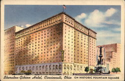 Sheraton-Gibson Hotel On Historic Fountain Square