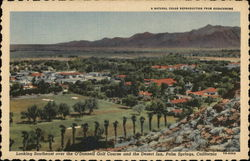 Looking Southeast Over the O'Donnell Golf Course and the Desert Inn