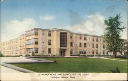Lutheran Home and Service for the Aged Postcard