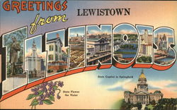Greetings from Lewistown