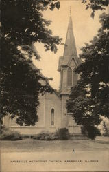 Kaneville Methodist Church Postcard