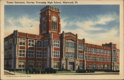 Proviso Township High School - Tower Entrance