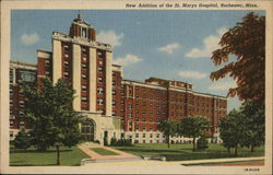 New Addition of the St. Marys Hospital