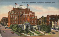 Gateway Park and Nicollet Hotel