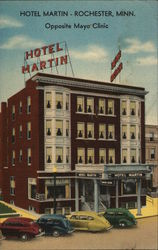 Hotel Martin, Opposite Mayo Clinic
