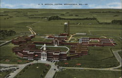 U.S. Medical Center Springfield, MO Postcard