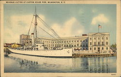 Revenue Cutter at Custom House Pier, Wilmington, N.C.