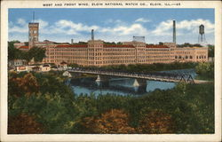 Elgin National Watch Co. - West and Front Wing Postcard